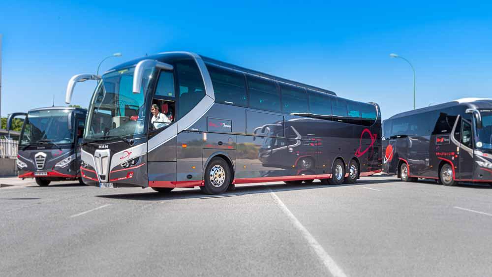 Lateral 3/4 - 63 plazas Elite Touring