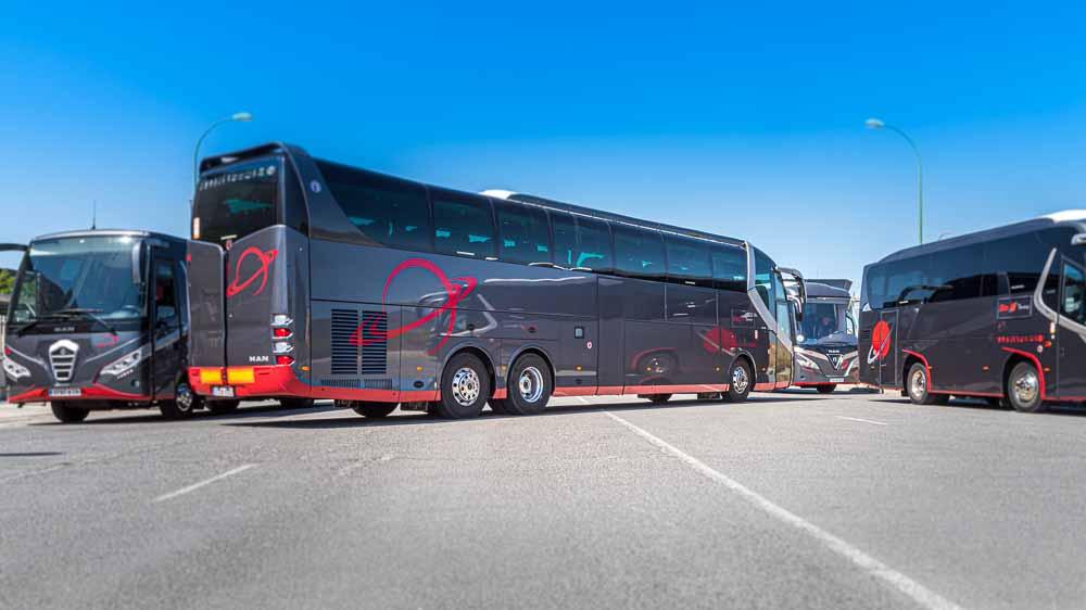 Trasera 3/4 - 63 plazas Elite Touring
