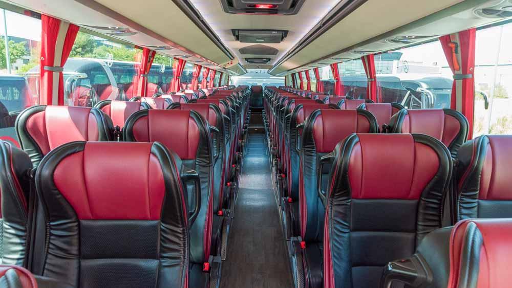 Interior - 63 plazas Elite Touring